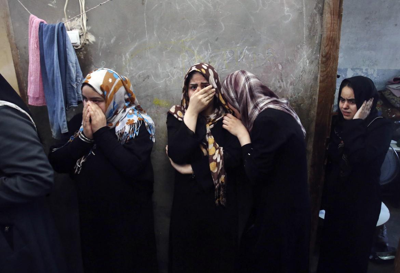 Un funerale a Gaza, luglio 2014