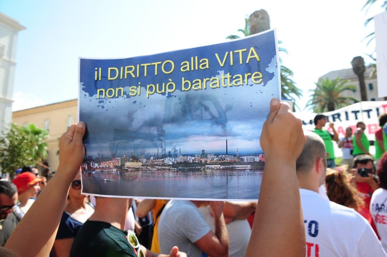 Protesta a Taranto