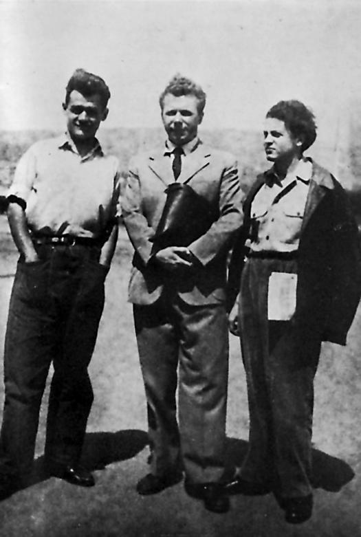 Al centro Callisto Cosulich, a sinistra Franco Giraldi, a destra Tullio Kezich