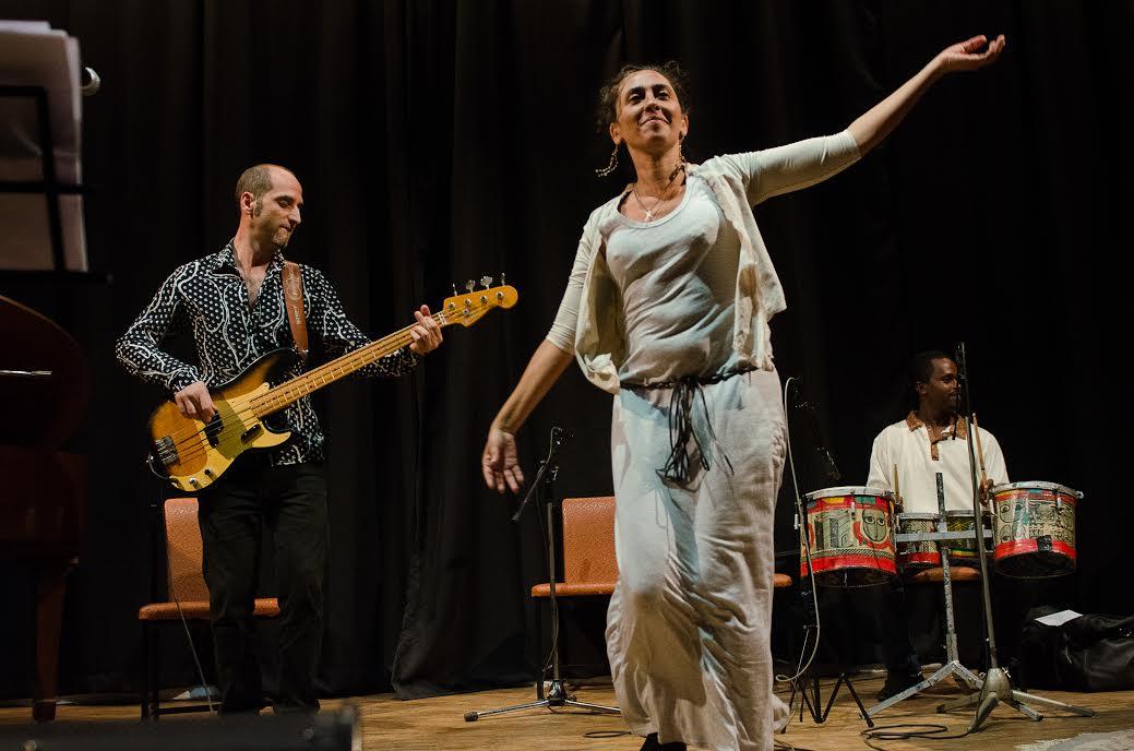 Gabrielal Ghermandi in scena