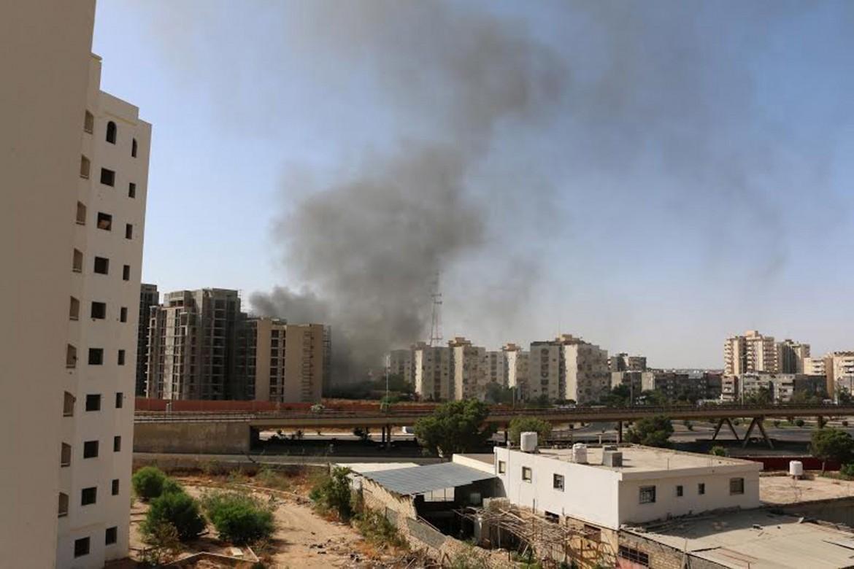 Fumo a Tripoli