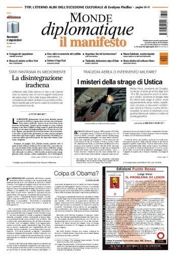 Le monde diplomatique di luglio agosto 2014