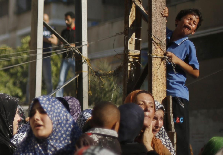 Funerali delle vittime di Gaza