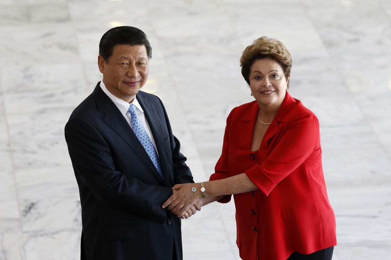 Brasilia, Dilma Rousseff e Xi Jinping