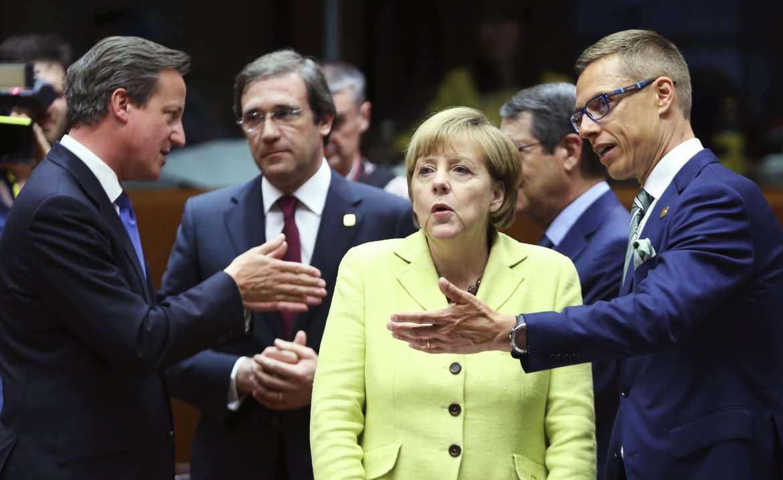 Angela Merkel e David Cameron