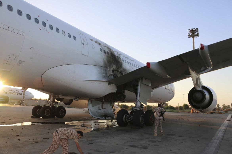 Tripoli, l'aeroporto internazionale