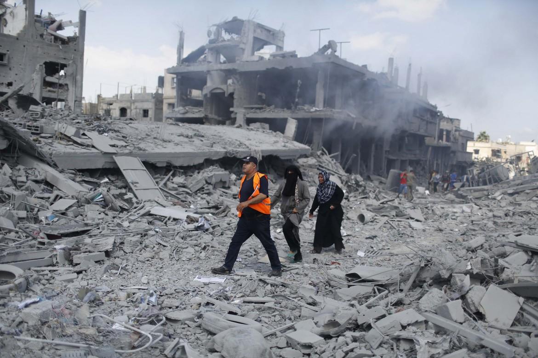 Gaza durante l'offensiva israeliana Margine Protettivo del 2014