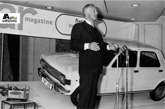 L'Avvocato Gianni Agnelli in una foto d'epoca