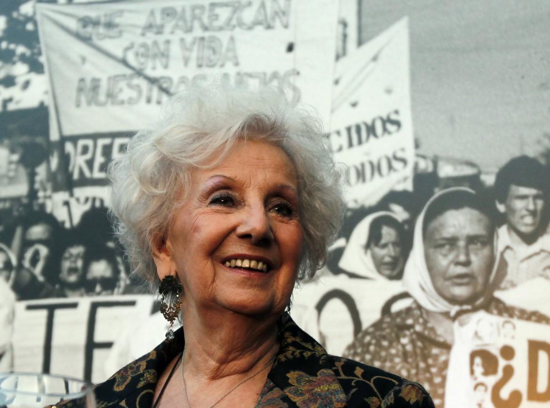 Estela Carlotto, presidente delle Abuelas de Plaza de Mayo
