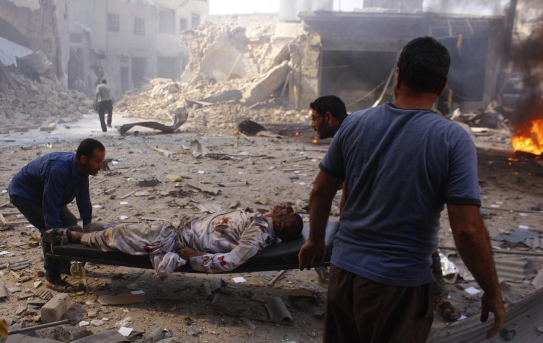 14 desk balcone aleppo oggi SYRIA-CRISIS