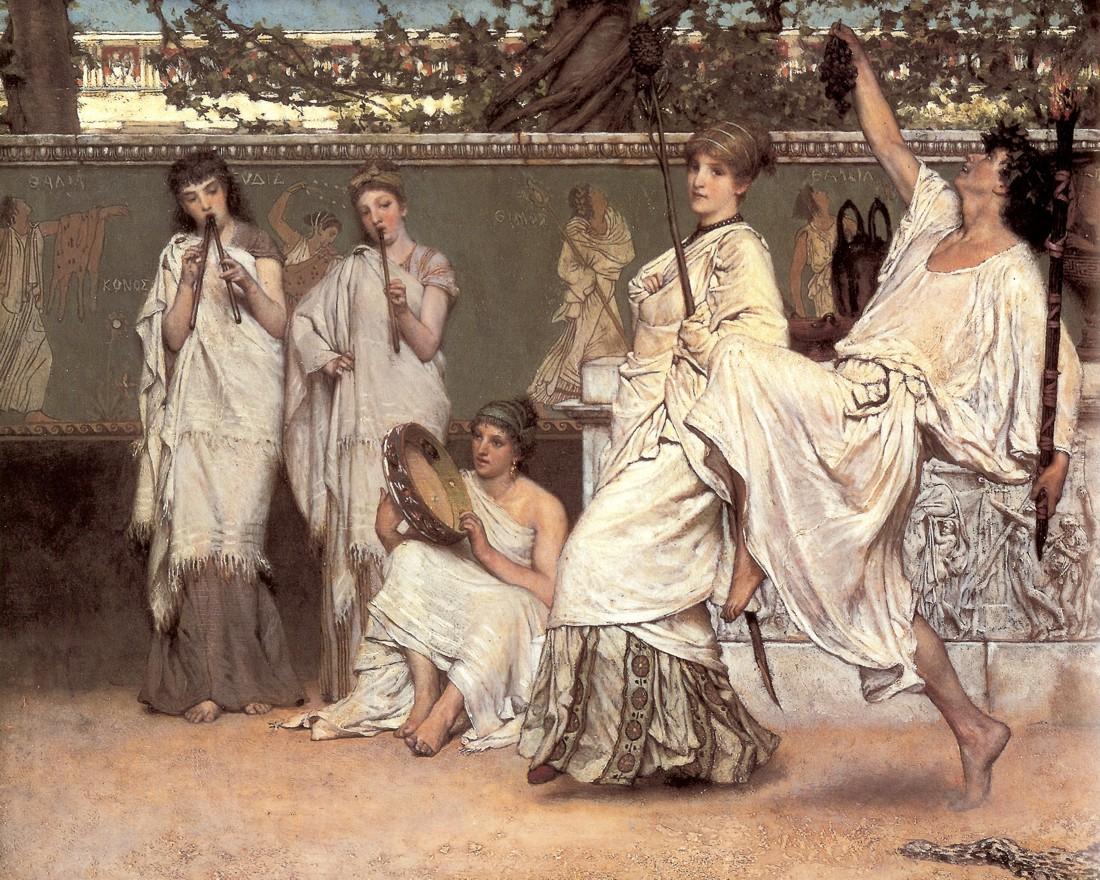 Un'opera di Alma Tadema
