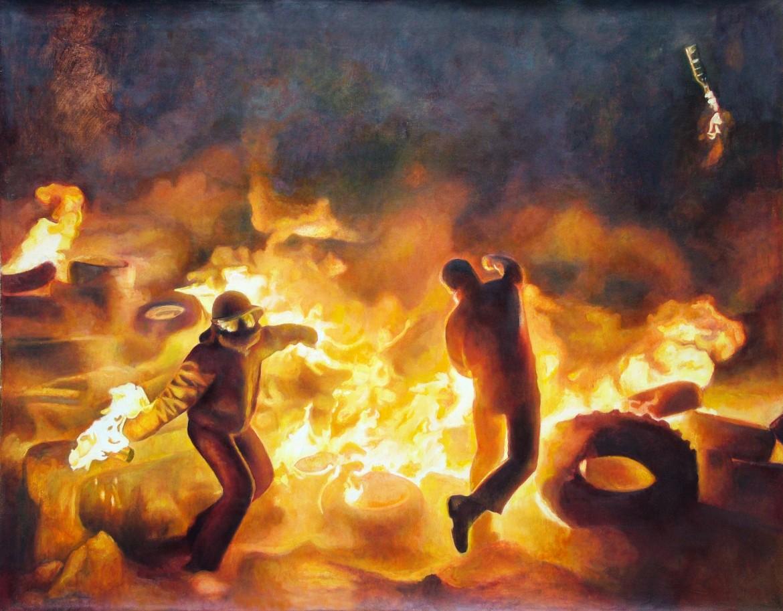 Molotov Toss