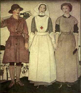 La condizione della donna nella Grande Guerra