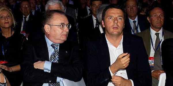 Squinzi e Renzi