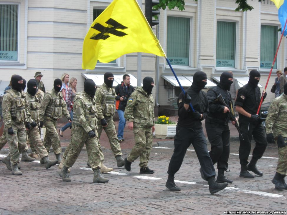 Membri del battaglione Azov