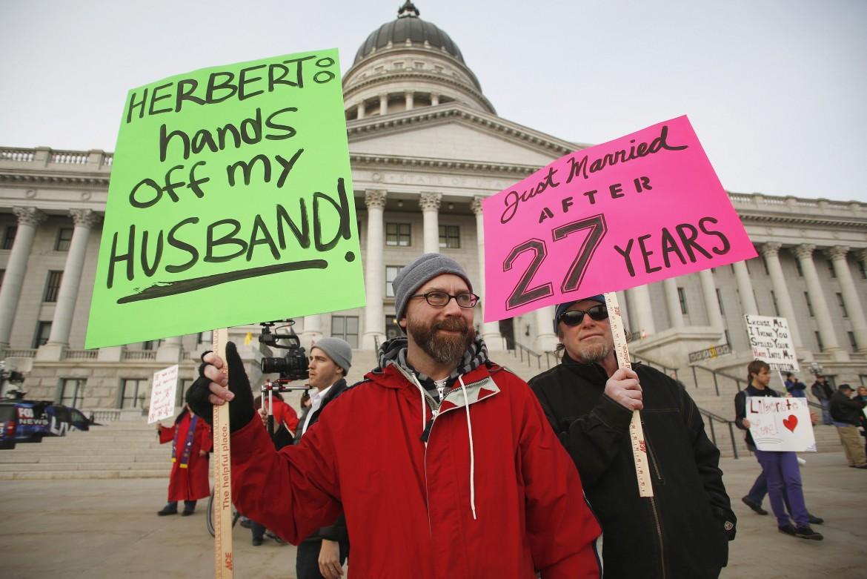 Manifestazione glbt a Washington