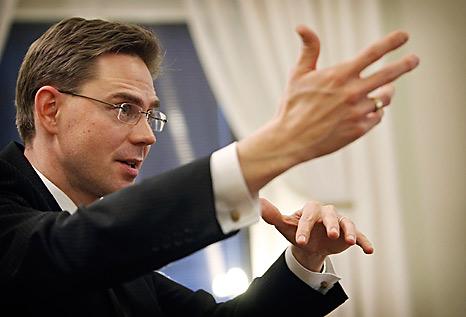 Il vicepresidente designato della Commissione Ue, Jyrki Katainen