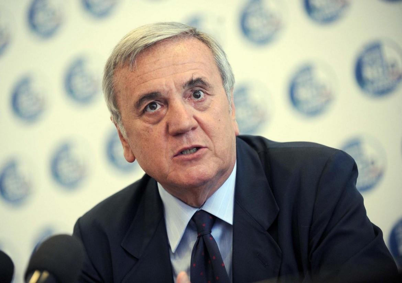 Il presidente dei senatori dell'Ncd, Maurizio Sacconi