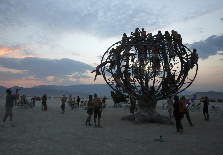 Installazione durante l'ultima edizione del «Burning Man»