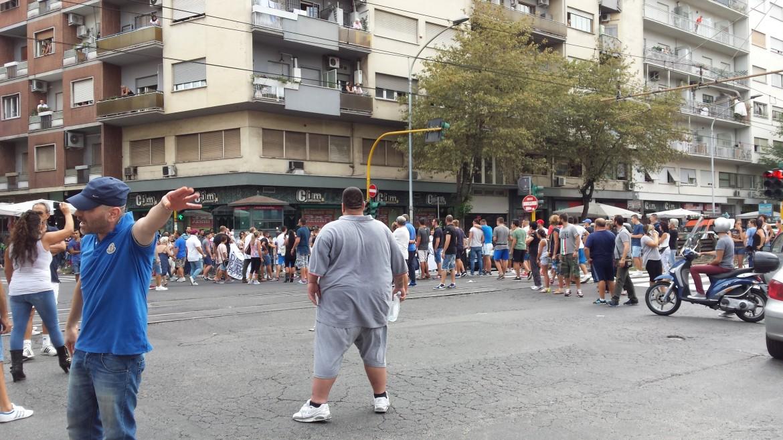 La manifestazione di Torpignattara