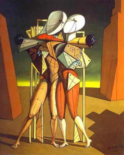 Giorgio De Chirico,  «Ettore e Andromaca», 1917