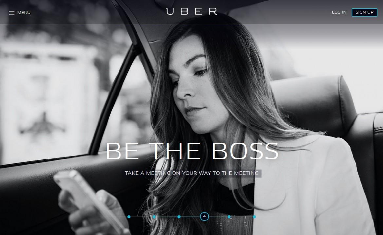 Pubblicità di Uber