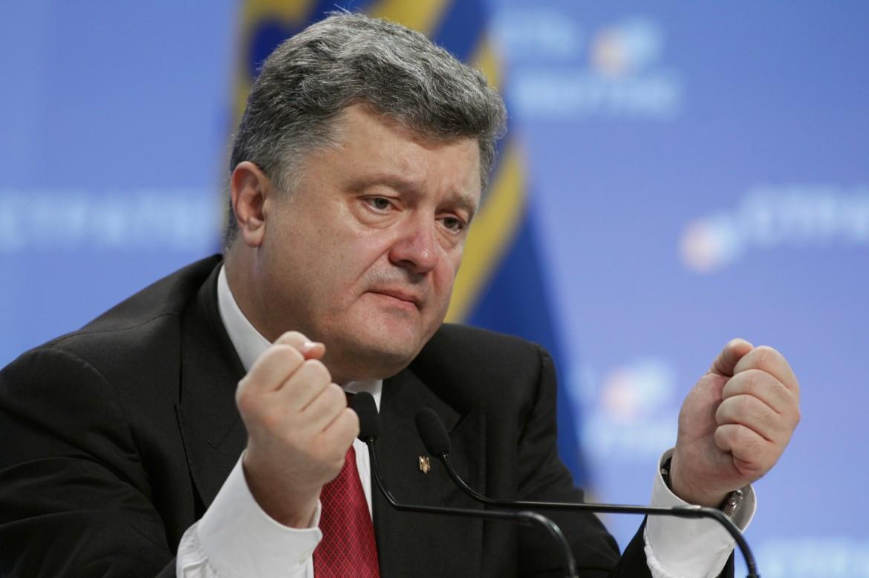 Il presidente ucraino Porošenko