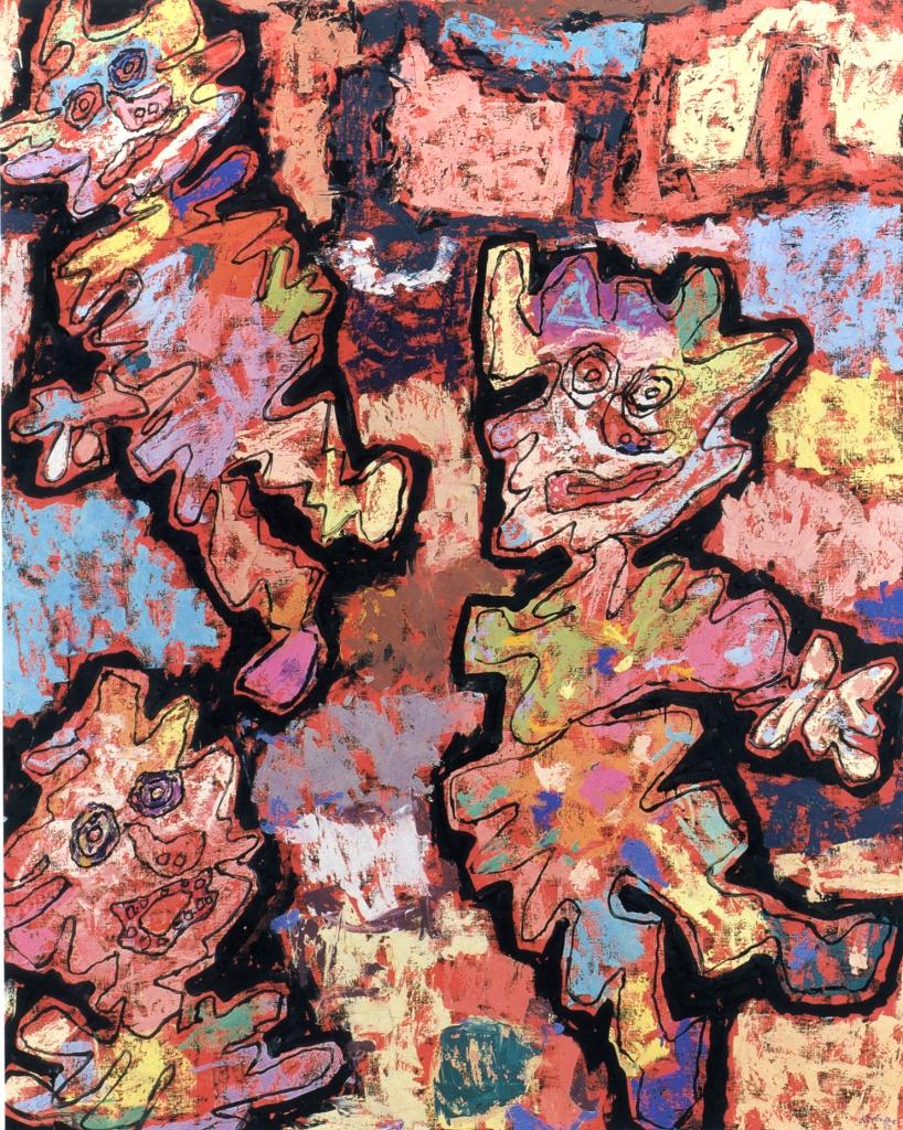 Jean Dubuffet, «Affaires en ville», gennaio 1962, Parigi, Musée des Arts Décoratifs, Donazione D.J.