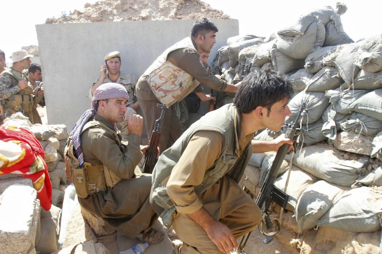 Peshmerga nella città di Daquq, a sud di Kirkuk