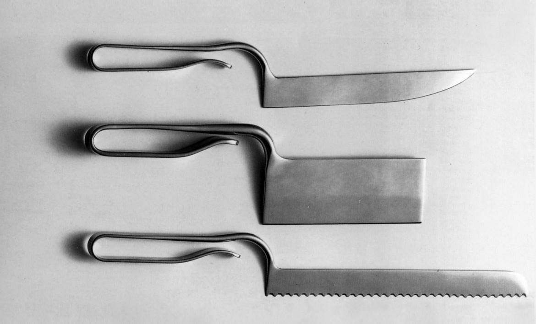 Enzo Mari, coltelli della serie Smith e Smith