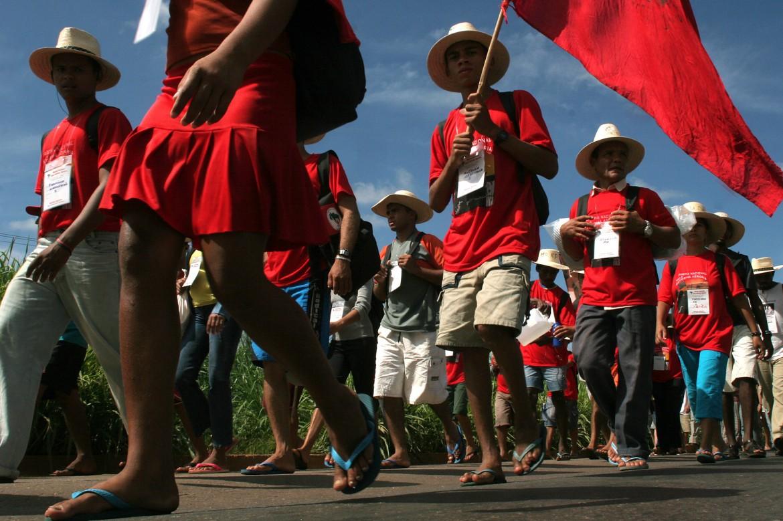 Il movimento brasiliano dei Sem Terra