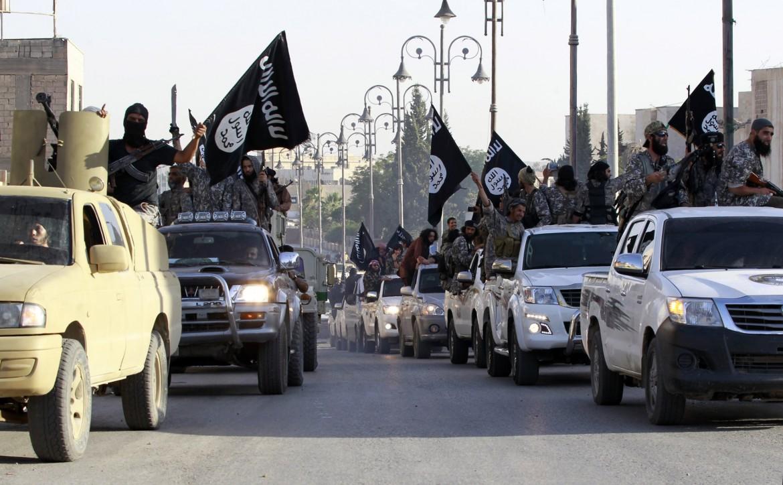 Miliziani dello Stato Islamico in Siria