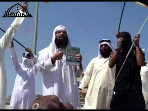 Bahrain. Il predicatore sunnita Turki al Binali durante un raduno a sostegno dell'Isis
