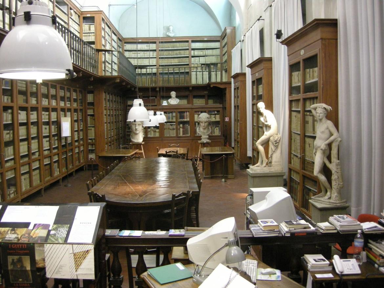 La biblioteca di Firenze