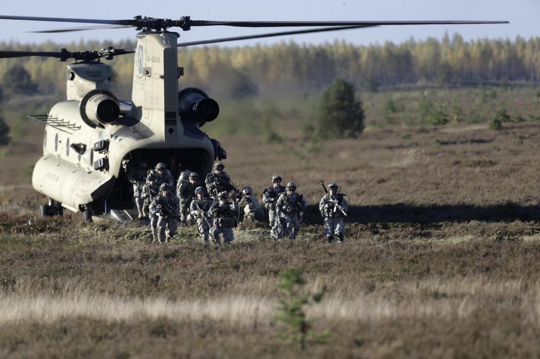 Esercitazioni Nato in Lettonia