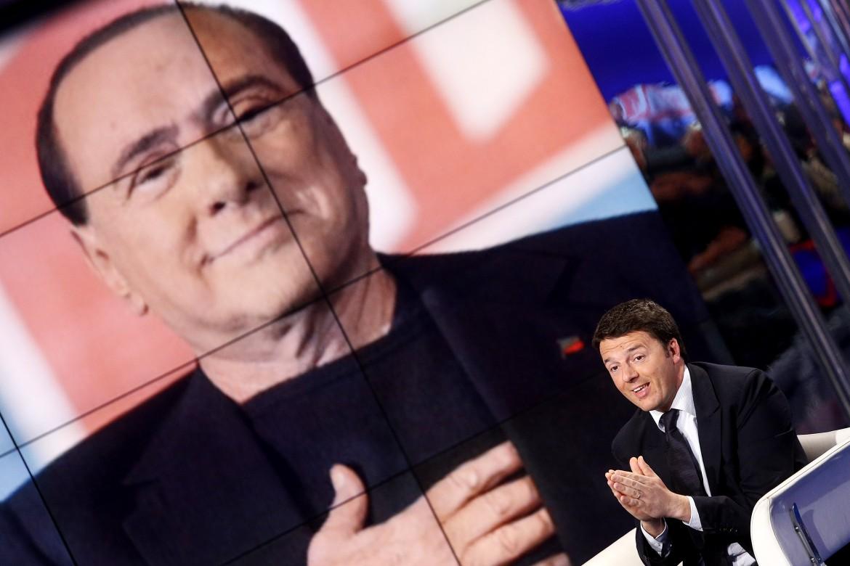 Berlusconi in tv, Renzi in poltrona