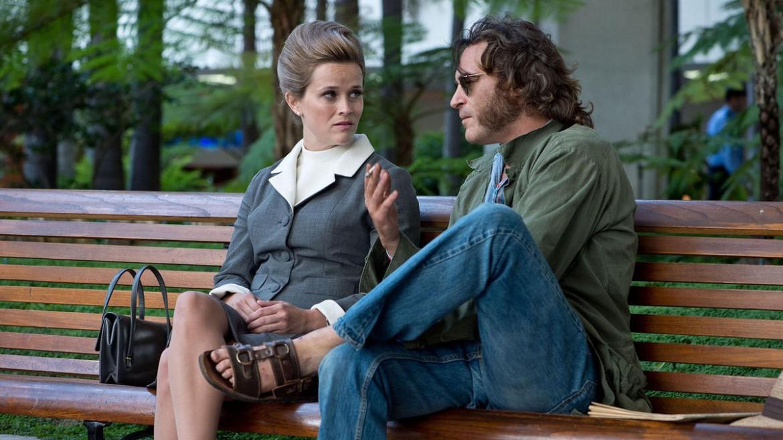 Joaquin Phoenix e Reese Witherspoon, sotto il regista P.T. Anderson