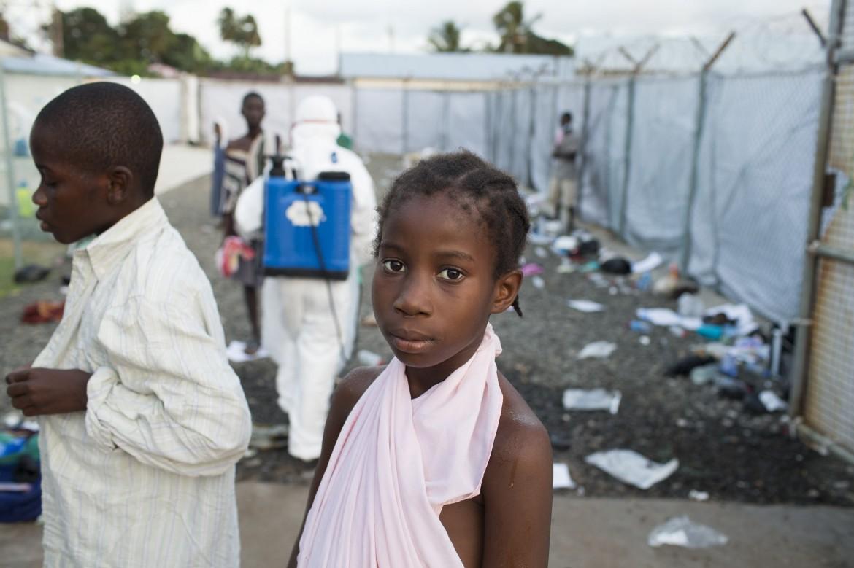 Nella Island Clinic di Monrovia, Liberia
