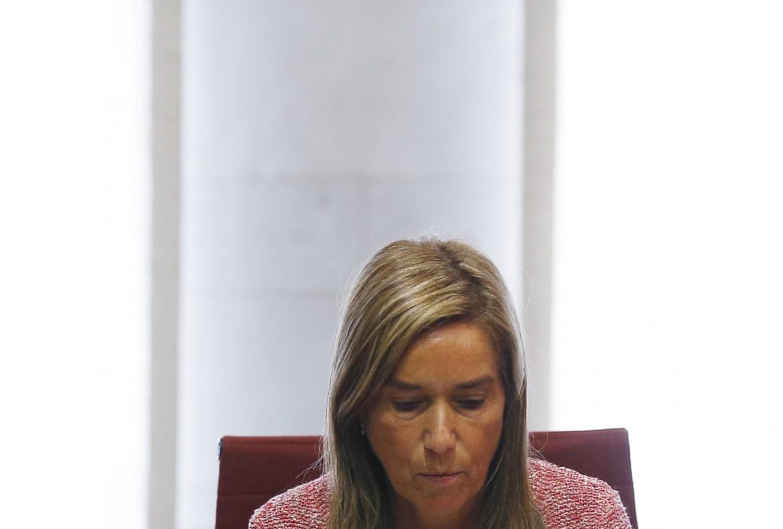 La ministra della Sanità spagnola Ana Mato
