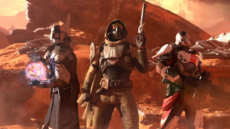 immagini dal videogame Destiny