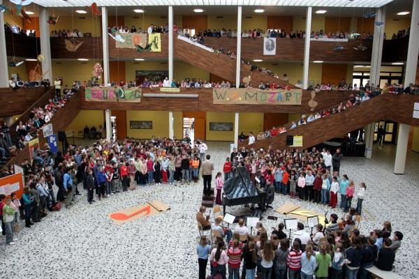Un gymnasium tedesco