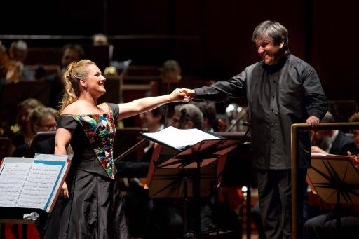 Diana Damrau e Antonio Pappano
