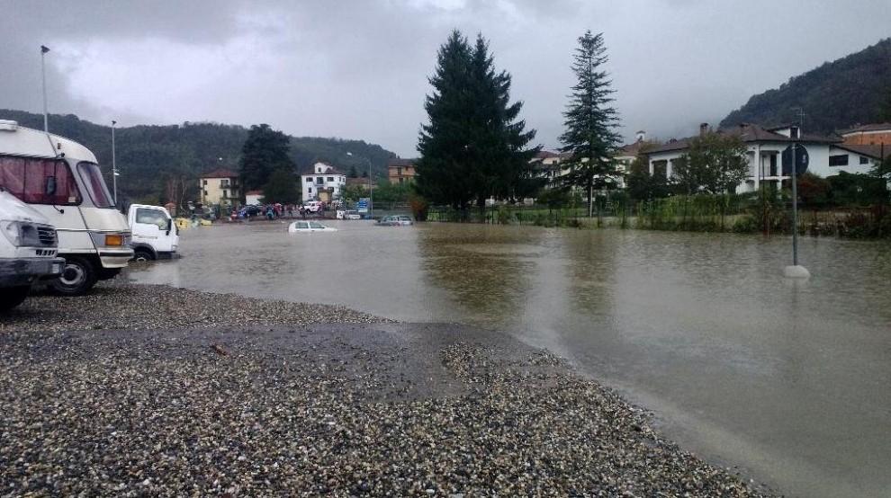L'alluvione in Piemonte