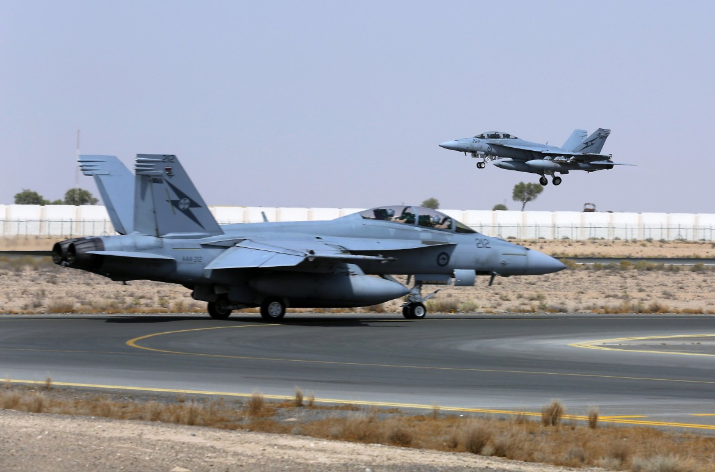 I jet australiani Super-Hornet