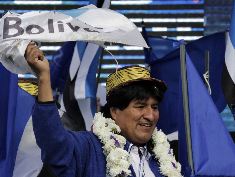 Bolivia, il presidente Evo Morales