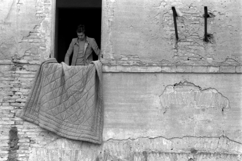 Franco Guerzoni, progetto per «Pavimento imbottito», 1970