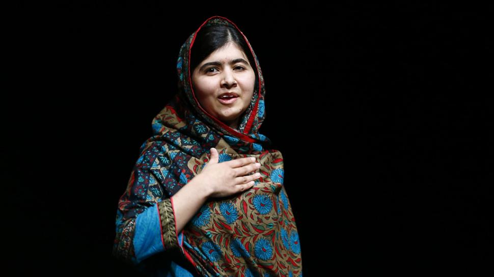 Malala Yousafzai, premio Nobel per la pace 2014.