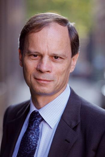 Una foto del Nobel per l'economia Jean Tirole