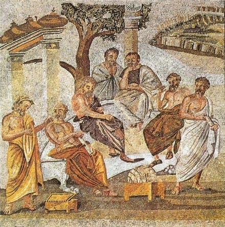 L'accademia platonica in un affresco pompeiano