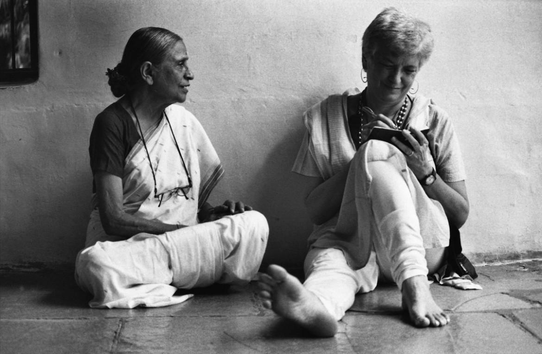 Ela Blatt e Mariella Gramaglia, Ahmedabad 2007